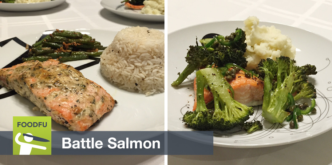 Battle Salmon: Is FoodFu fun if you don't like to cook?