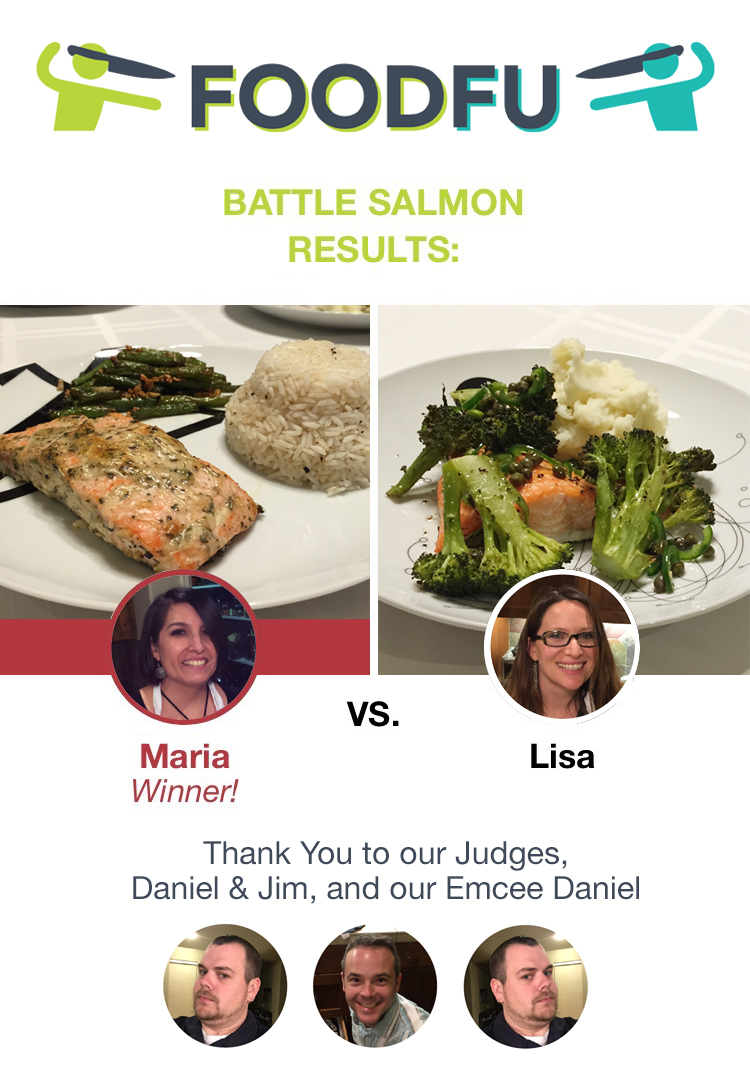 Who won FoodFu Battle Salmon?
