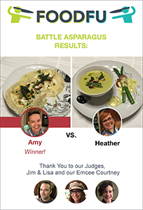 FoodFu Battle Asparagus Results