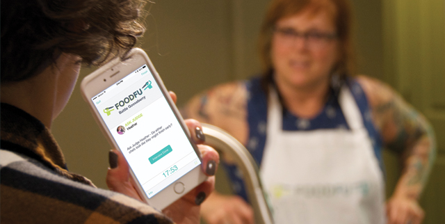 FoodFu Press Kit - Download FoodFu Emcee interviewing Chef