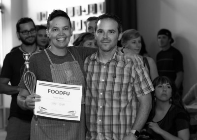 Amy won the Most Wins in the Kitchen award