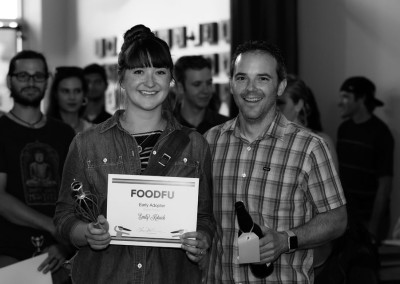 Emily won the Early Adopter Award