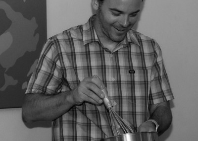 Jim and a Golden Whisk