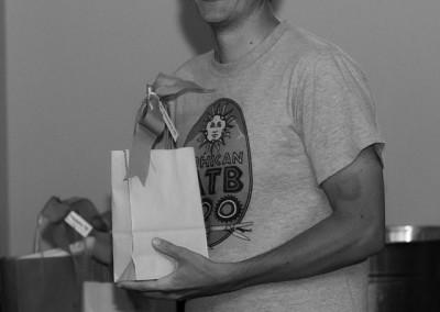 Scott won a FoodFu Kitchen Towel