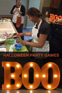 Halloween Party Games inspired by Famous Chefs