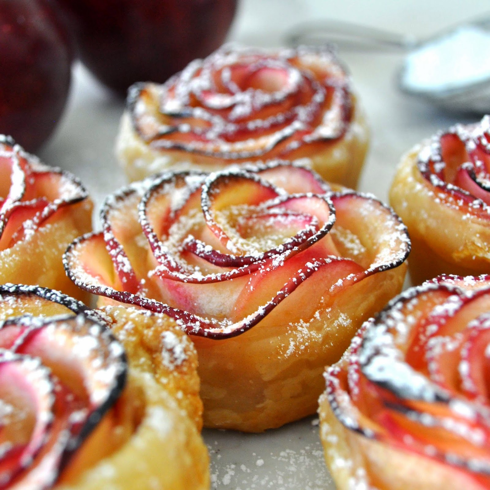Apple Roses You Can Eat