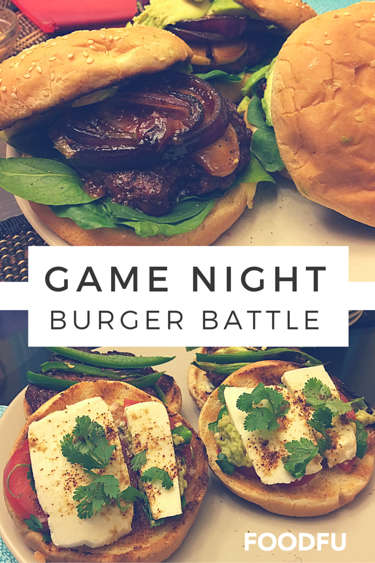 FoodFu Game Night Burger Battle
