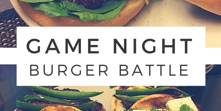 Burger Battle Makes Game Night Tasty