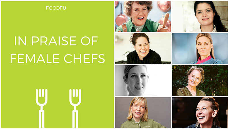 In Praise of Female Chefs