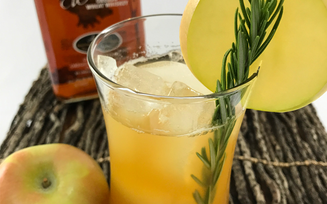 Apple Rosemary Whiskey Cocktail Recipe