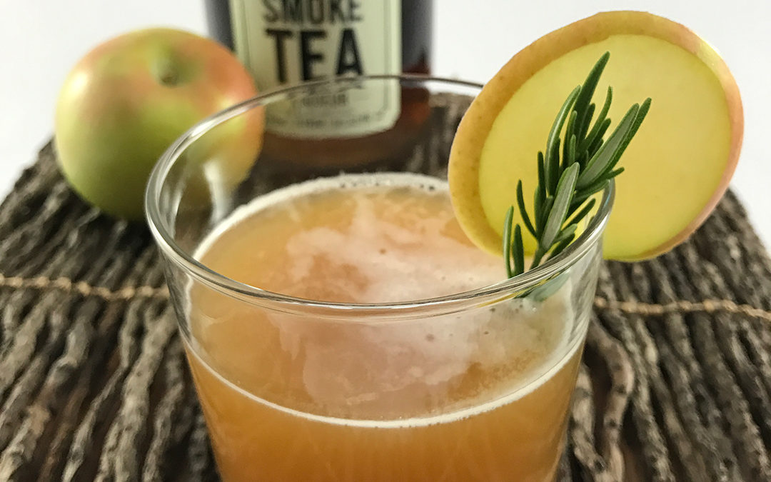 Rosemary Smoked Cider Cocktail